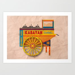 Sorbetes / Traditional Filipino Ice Cream Art Print