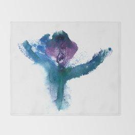 Isabella's Tulip Throw Blanket