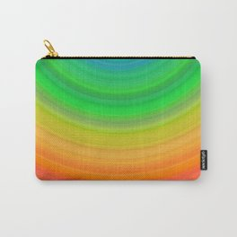 Rainbow Smile Colored Circles Summer Pattern Carry-All Pouch
