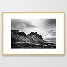 Stokksnes, Iceland Framed Art Print