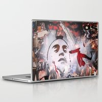 taxi driver Laptop & iPad Skins featuring TAXI DRIVER by John McGlynn