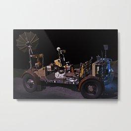 Moon Rover Metal Print