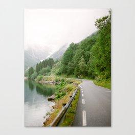 Norwegian Road Trip Canvas Print