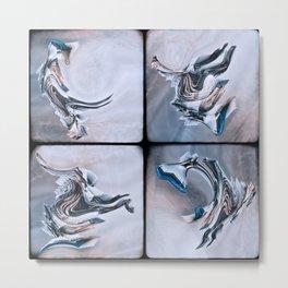 Expressions Metal Print