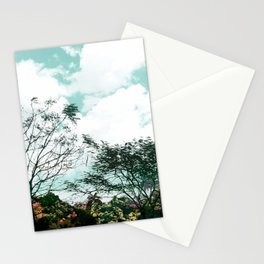 Flowers in the Garden of Eden Stationery Cards