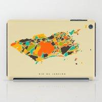 rio iPad Cases featuring Rio  by Nicksman