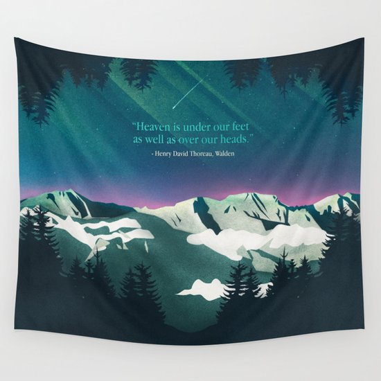 Heaven Sent Wall Tapestry