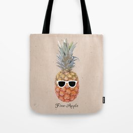 Fine Apple Tote Bag