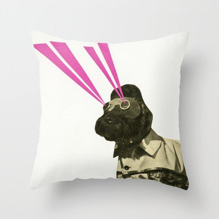 Space Dog Deko-Kissen