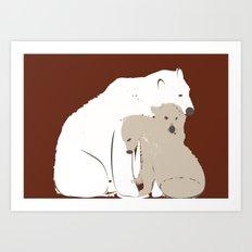 Animals Illustration Art Print