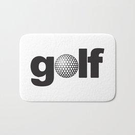 Golf Is My Game Bath Mat