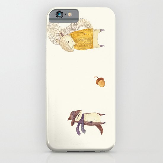 The Last Acorn of Autumn iPhone & iPod Case