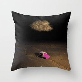 The Begining Throw Pillow