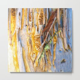 Tree Bark Absract # 7 Metal Print
