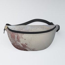 Gracious Gorgeous Pluto Surface Satellite Telescope Ultra HD Fanny Pack