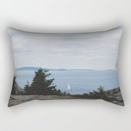 Hiker's View Rectangular Pillow