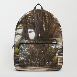 Tunnel of Trees Photography Print Backpack