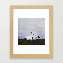 Strength Comes in a Form Overlooked Framed Art Print