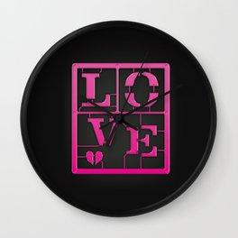 Make: LOVE Wall Clock