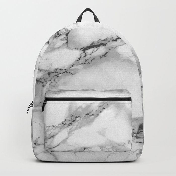 Marble - Gray Backpack