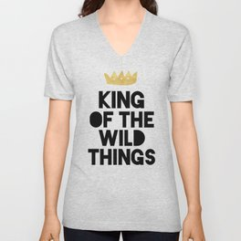 KING OF THE WILD THINGS Unisex V-Neck