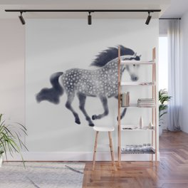 Dapple horse Wall Mural