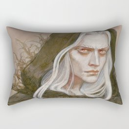 The Albino Antihero Rectangular Pillow