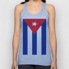 Flag of Cuba Unisex Tank Top