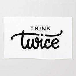 Think twice Rug