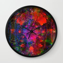 Dividing Mandelbrot Wall Clock
