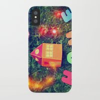 home sweet home iPhone & iPod Cases featuring HOME by Julia Kovtunyak