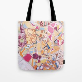Tiling with pattern 4 Tote Bag