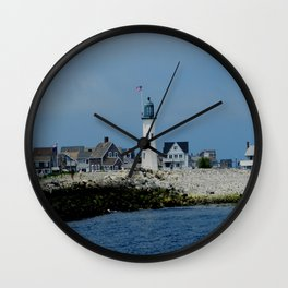 Scituate Lighthouse Wall Clock