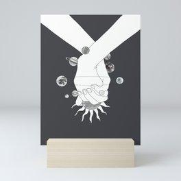 Everything Revolves Around Us II Mini Art Print