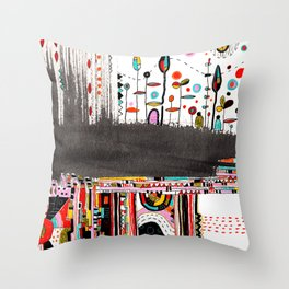 your sky Throw Pillow