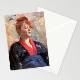 """Henri de Toulouse-Lautrec """"tMadame Lili Grenier"""" Stationery Cards"""