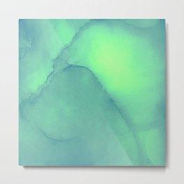 Green gable Metal Print