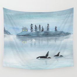 Nature is my home Wall Tapestry