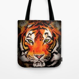 Tiger in the Shadows Tote Bag