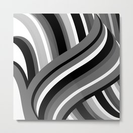 Twisted Turn Metal Print