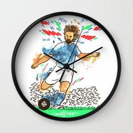 Andrea Pirlo The Maestro Wall Clock