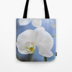 White Phalaenopsis Tote Bag