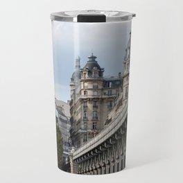 Pont de Bir-Hakeim over the Seine Travel Mug