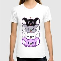 asexual T-shirts featuring Secret Undercover Asexual Koaloids by Arinko