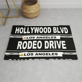 Los Angeles California Rug