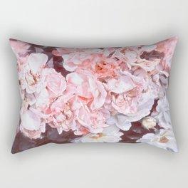 Romantic Floribunda Rectangular Pillow