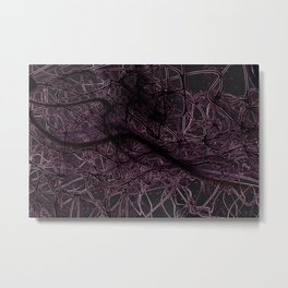 Neuronic Metal Print
