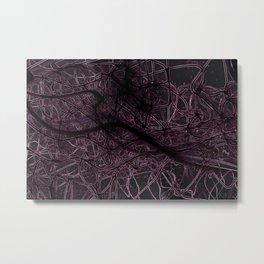 Neuronic Metal Print