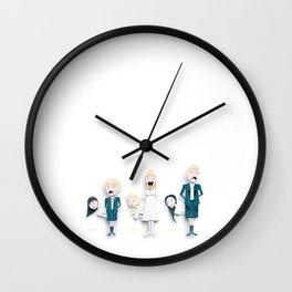 So Long, Farewell Wall Clock