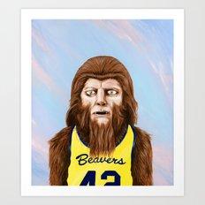 Teenwolf Art Print